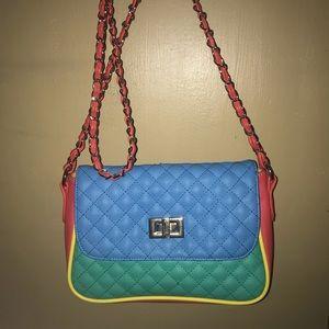 ASOS colorblock purse